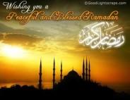 Le deseamos toda la bendición en Ramadán